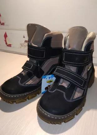"""Зимові черевики для хлопчика 35роз., """"Renbut""""."""