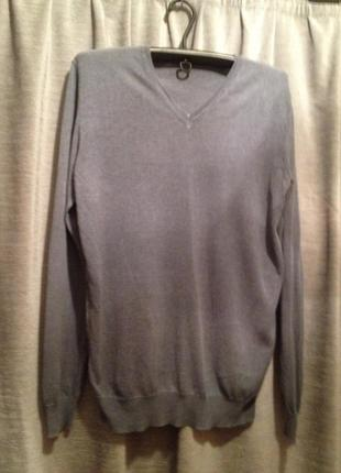 Тоненький мужской пуловер.105