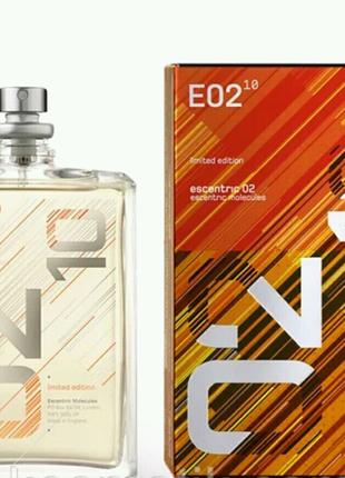 Туалетная вода Escentric Molecules Escentric E02 Limited Edition