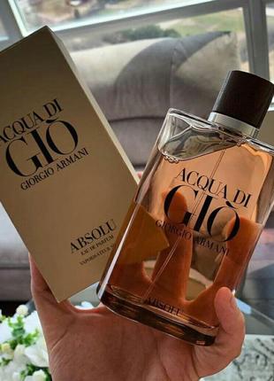 Мужская парфюмерная вода Giorgio Armani Acqua di Gio Absolu 100 м