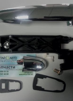 Ручка двери наружная задняя  левая (никель)