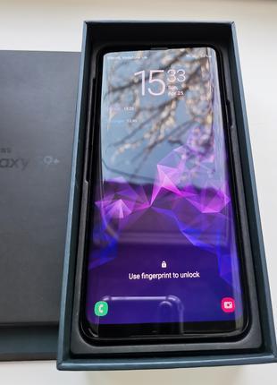 Смартфон Samsung Galaxy S9 + Plus Duos 2 SIM Midnight Black 6/256