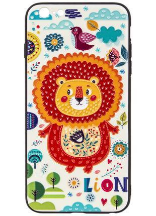 Чехол для смартфона EASY Lion with bird 3D for Iphone 6 Plus (3DI