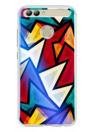Чехол для смартфона Huawei Nova 2 Multi-color TPU Case Vigour