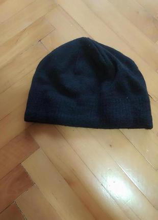 Шерстяная шапка бини с дополнительной защитой на ушах от tcm t...