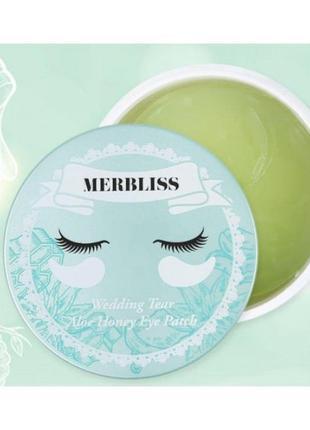 Merbliss Wedding Tear Aloe Honey Eye Patch Патчи для глаз