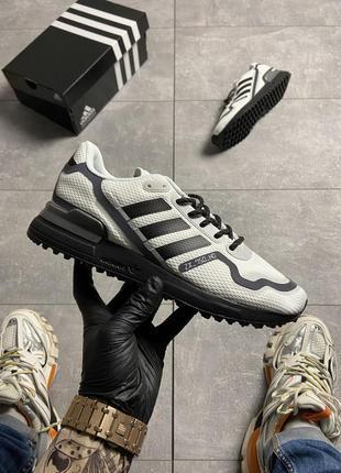 Мужские кроссовки adidas zx 750 hd white.