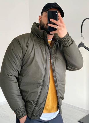 Стильный мужской бомбер куртка ветровка весенний