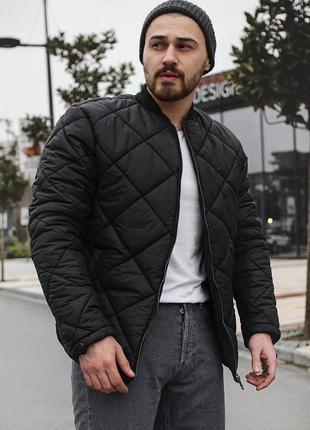 Стильный оверсайз бомбер весенний куртка ветровка