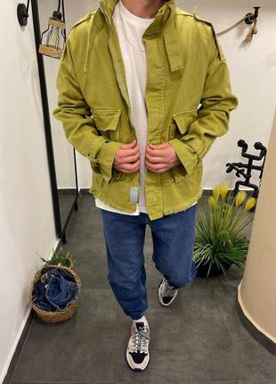 Мужская весенняя джинсовка джинсовая куртка
