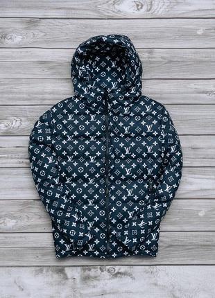 Весенняя непродуваевая куртка с капюшоном черная ветровка