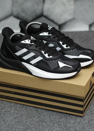 Топовые мужские кроссовки кеды adidas черные демисезонные адидасы