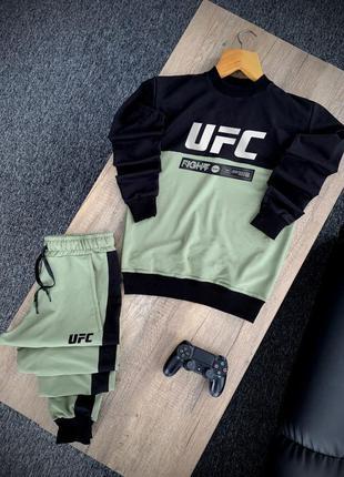 Легкий весенний спортивный костюм комплект ufc толстовка спорт...