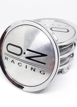 Колпачки заглушки с логотипом OZ Racing для литых дисков 74/70 мм