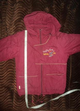 Куртка теплая зимняя для девочки б\у