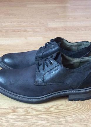 Кожаные туфли josef seibel 42 размера в состоянии новых