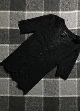 Женская блуза на пуговицах new look