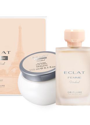 Подарочный набор Eclat Femme Weekend