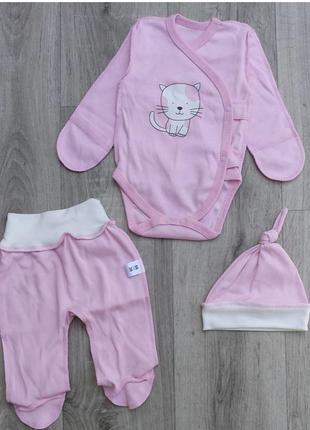 Комплект костюм в роддом на выписку для новорождённого