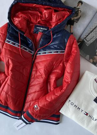 Куртка tommy hilfiger, женская куртка tommy hilfiger