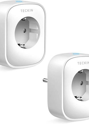 Умная розетка WiFi розумна Teckin Smart SP22 10 А 2200 Вт 2шт ...