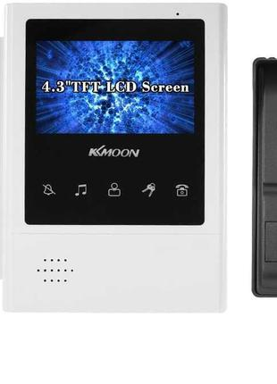 Німеччина KKmoon відеодомофон 4,3 дюйма нічне бачення комплект...