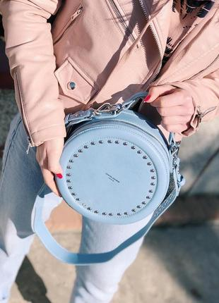 6 цветов! сумочка david jones круглая кругляшка на плечо клатч...