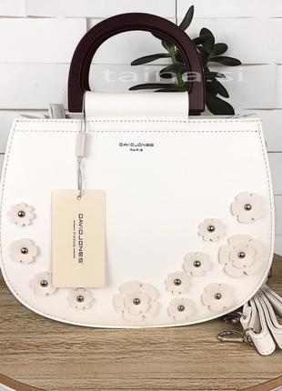 5 цветов! david jones белая сумка с деревом сумочка деревянная...
