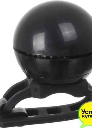 Велозвонок Звонок MaxxPro черный класика CR2032