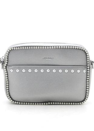 2 цвета сумка клатч сумочка стильная кроссбоди серебро