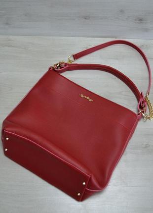 11 цветов! повседневная сумка красная для школы учебы а4  вмес...
