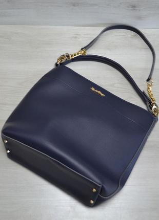 11 цветов! повседневная сумка синяя для школы учебы а4 вместит...