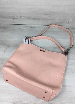 11 цветов! повседневная сумка розовая пудра для школы учебы а4...