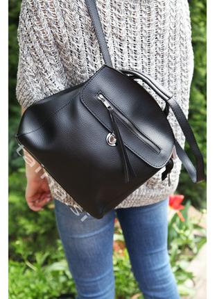 7 цветов! черный рюкзак сумка городской рюкзачок