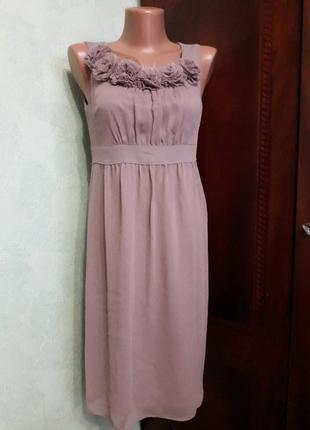 Легкое платье свободного стиля