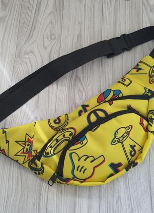 Бананка сумка на пояс