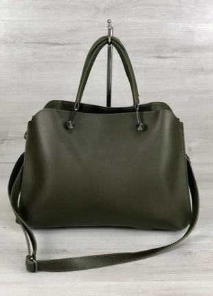 6 цветов! повседневная сумка оливковая для учебы школы хаки а4...
