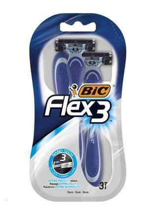 Станок для бритья BIC 3 Flex Comfort (3 шт.)