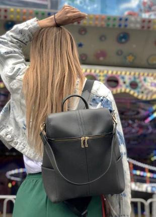 5 цветов! сумка рюкзак серый классический городской а4 в школу...