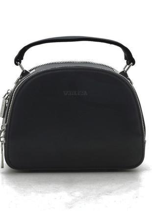 Женский клатч f1169 black черный сумка кросс боди через плечо ...