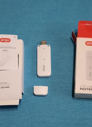 Роутер модем Ergo LTE USB WI-FI W02 3G\4G