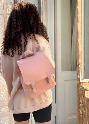 5 цветов! розовый рюкзак трансформер сумка городской пудровый ...
