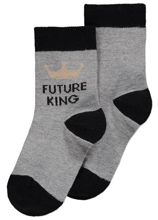 """Носочки джордж малышу. """"будущий король""""."""