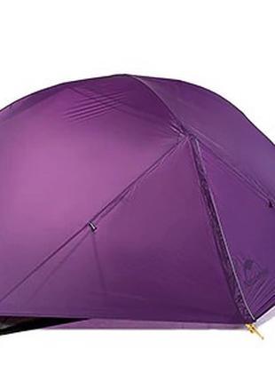 Naturehike Mongar 2 Туристическая палатка Фиолетовая (Hubba nx)