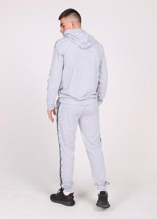 Серый спортивный костюм  adidas duo