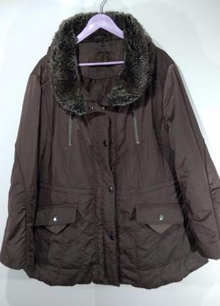 Женская куртка осень - зима размер 48