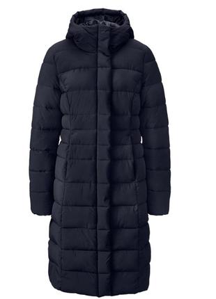 Теплющее зимнее стеганное пальто на молнии от tchibo (германия...