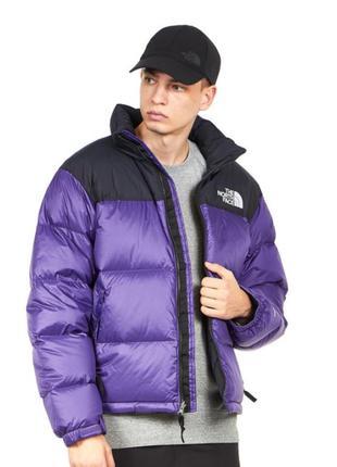 Пуховик куртка tnf 1996 nuptse jacket violet the north face
