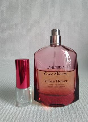 Оригинал! 5 мл shiseido ever bloom ginza flower