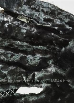Норковая шуба с капюшоном, черная, шубка в идеале, приталенная